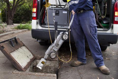 cctv pipeline inspection